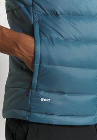The North Face - ACONCAGUA VEST - Waistcoat - black mallard/blue - 6