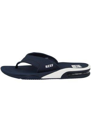 FANNING - T-bar sandals - blue