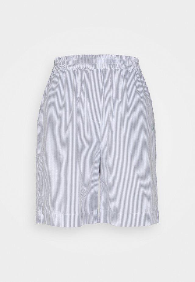 VIVIAN - Shorts - blue/white