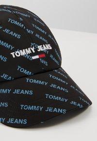 Tommy Jeans - SPORT TRUCKER - Czapka z daszkiem - black - 6