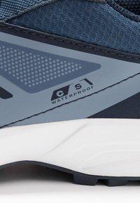 Salomon - SENSE CSWP - Trail running shoes - sargasso sea/navy blazer/flint - 2