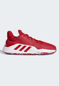 adidas Performance - PRO BOUNCE 2019 LOW SHOES - Basketball shoes - red - 6