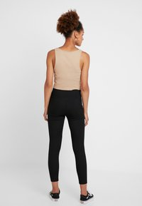Topshop - BALLET - Leggings - Trousers - black - 2