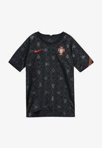 Nike Performance - PORTUGAL FPF Y NK DRY SS PM - Oblečení národního týmu - black/challenge red - 3
