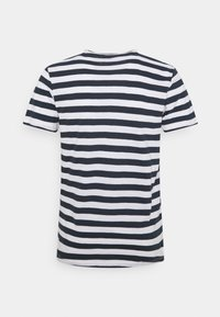 Jack & Jones - JORTONS STRIPE TEE CREW NECK - Print T-shirt - navy blazer - 1