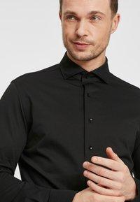 PROFUOMO - JAPANESE KNITTED - Shirt - black - 3