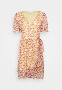 VIVOLETTE WRAP DRESS - Denní šaty - sunlight/cottage print