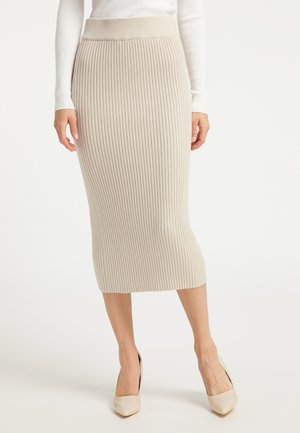 Pencil skirt - champagner