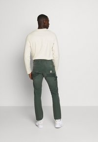 G-Star - FAEROES CLASSIC STRAIGHT TAPERED PM - Trousers - balsam - 2