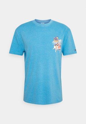 PARROT GRAPHIC TEE - T-Shirt print - frigid blue