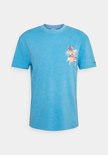 PARROT GRAPHIC TEE - Print T-shirt - frigid blue