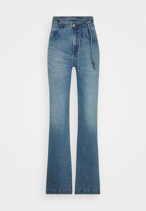MERYL - Jeans a zampa - stone