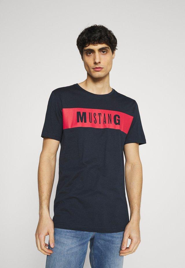ALEX - T-shirt con stampa - dark sapphire