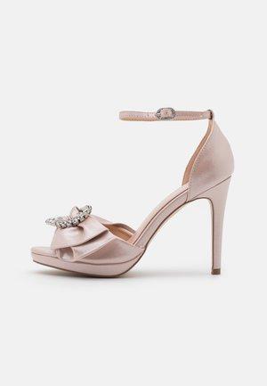 JOJO - Sandały na platformie - blush shimmer