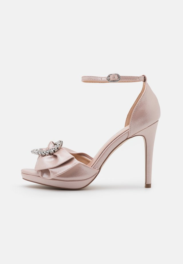 JOJO - Sandales à plateforme - blush shimmer