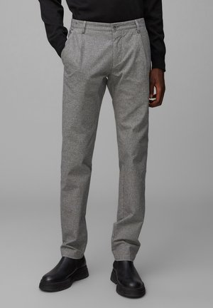 STIG PLEATS - Trousers - multi/griffin