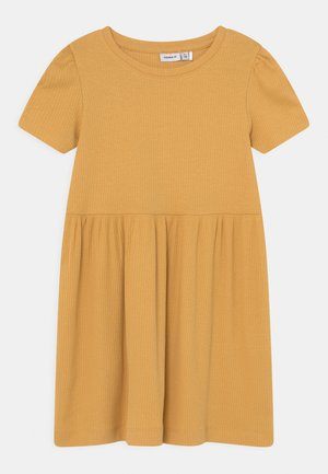 NMFHANILLA DRESS - Jerseyjurk - ochre