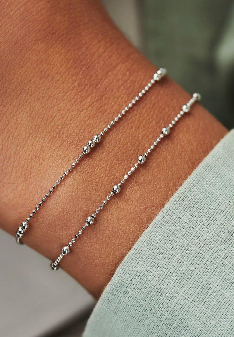 Selected Jewels - SET - Bracelet - silber