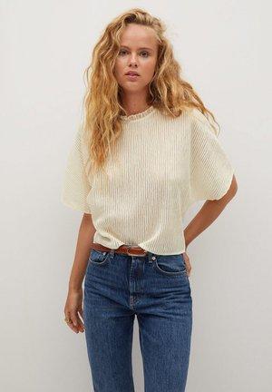 KALISTA - T-Shirt print - ecru