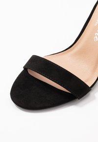New Look - Korolliset sandaalit - black - 2