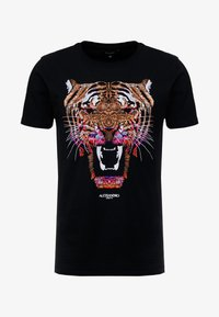 GROWLER  - Print T-shirt - black
