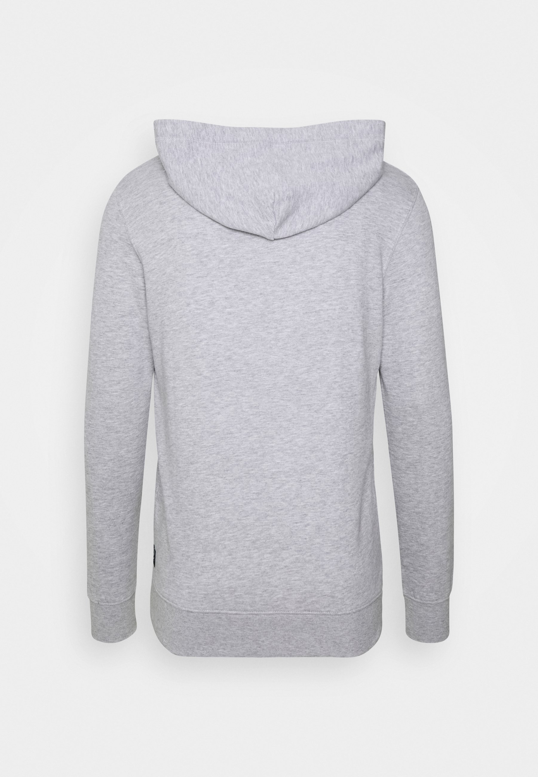 Tom Tailor Denim Hoody Chest Print - Hoodie Light Stone Grey/grå