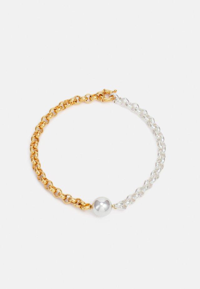 Bracelet - gold-coloured/silver-coloured