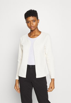 ONLCABLE SHORT CARDIGAN  - Cardigan - ecru