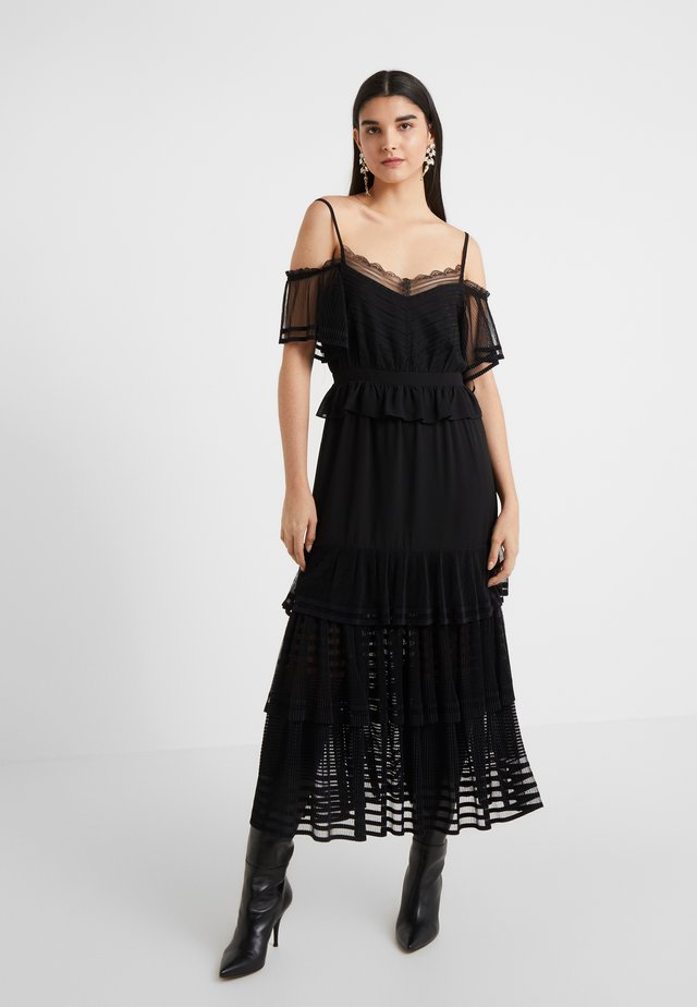 INFERNO DRESS - Maxi dress - black