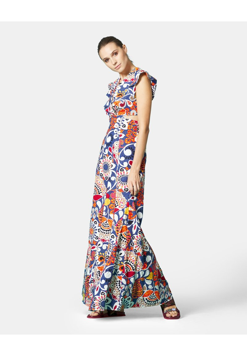Manila Grace - Maxi dress - indaco
