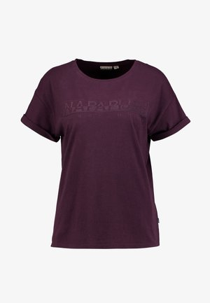 SERBER WOM - Print T-shirt - purple wine