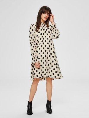 Day dress - white/w black