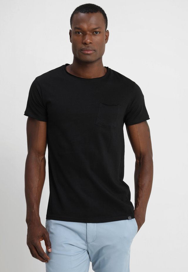 GAYLIN - T-shirt - bas - black