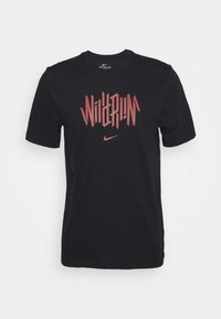 Nike Performance - DRY TEE WILD RUN - Print T-shirt - black - 3