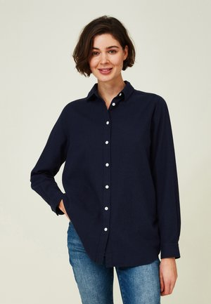 ISA LT - Skjorte - dark blue melange