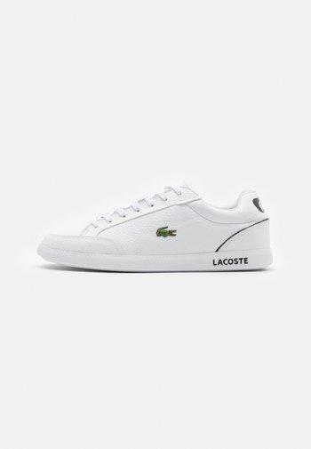 GRADUATE - Sneakers - white/black