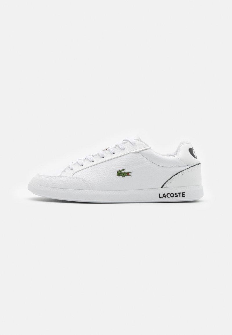 Lacoste - GRADUATE - Sneakers - white/black