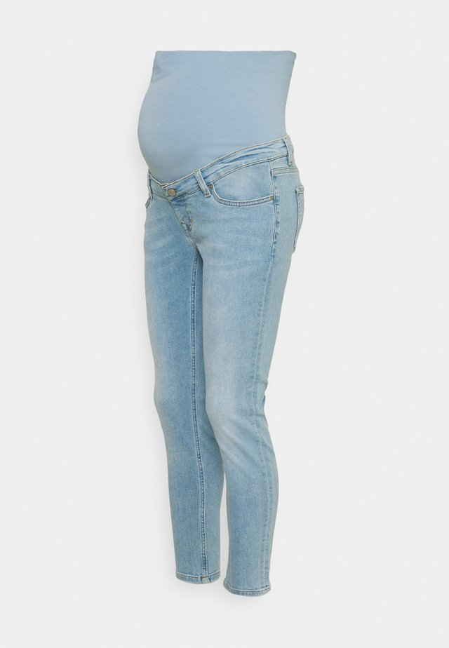 MILA 7/8 VINTAGE BLUE - Slim fit jeans - vintage blue