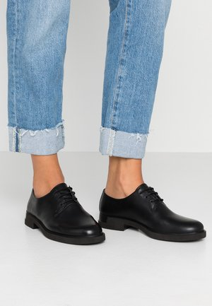 DAMEN  - Oksfordki - black