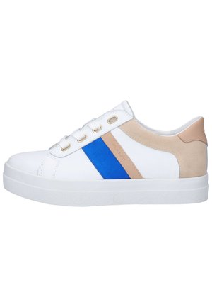Trainers - br.wht./elect. blue g286