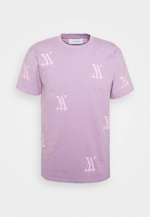 RANDOM LOGO - Print T-shirt - lavender