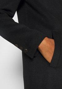 Selected Femme Tall - SLFSASJA COAT  - Klasický kabát - black - 5