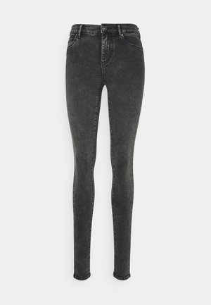 ONLRAIN REG ACID - Skinny džíny - black denim