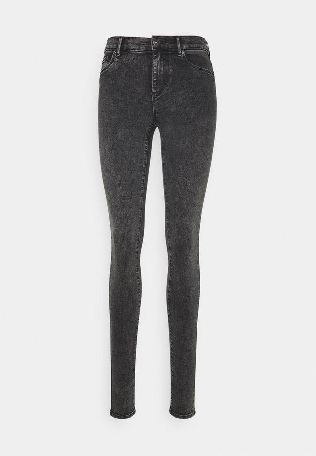 ONLRAIN REG ACID - Skinny džíny - black denim