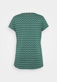 Ragwear Plus - CHEVRON - Triko spotiskem - dark green - 1