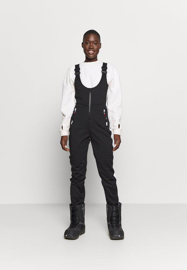 NU SLALOM SLIM ALL IN 1 - Snow pants - black