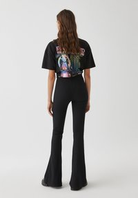 PULL&BEAR - Pantalon classique - black - 2