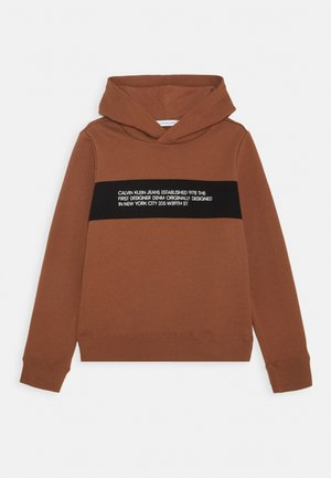 Huppari - brown