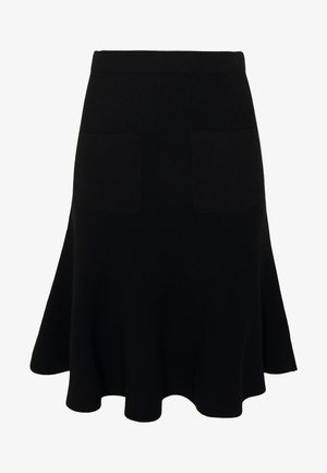 CYNTHIA LOVELY KNIT SKIRT - Falda de tubo - black