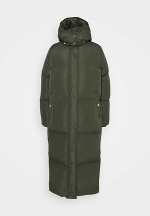 Down coat - army green